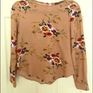 Rose blouse top